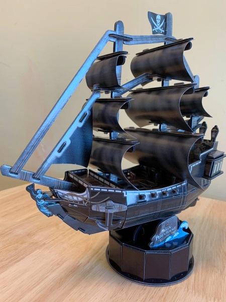 【平到你唔信系列】3D帆船及高教育性火箭砌圖