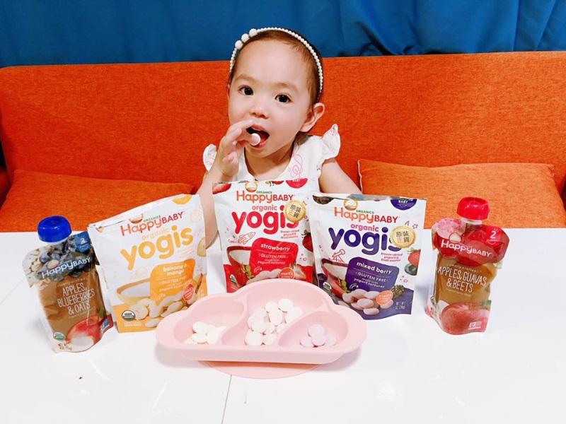 妹妹健康小食推介 Happy Family Organics HK!
