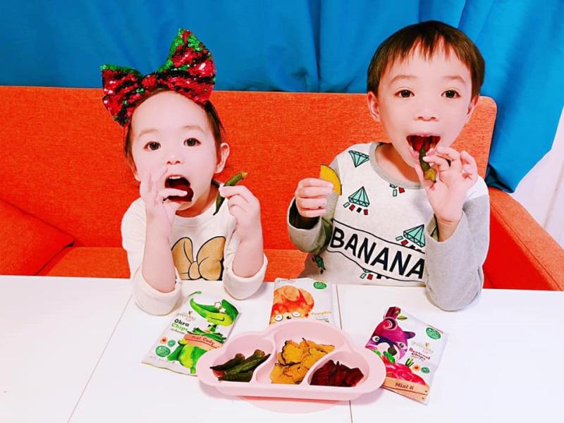 是日下午茶♡Greenday蔬菜寶寶七彩繽紛健康零食♡