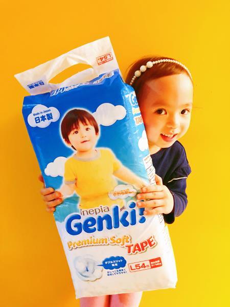 公主今日分享佢既心水紙尿片Nepia Genki 頂級柔軟嬰兒紙尿片♡ ...
