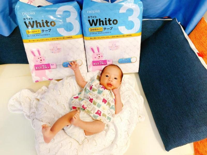 終可以訓多幾個鐘喇✿全靠Nepia Whito 嬰兒紙尿片✰