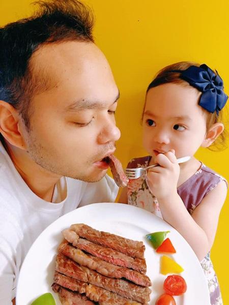 是日西式午餐❀香煎FoodBarn急凍澳洲和牛(MB7)肉眼❀